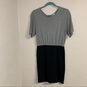 Gap sheath dress viscos top and tight knit skirt